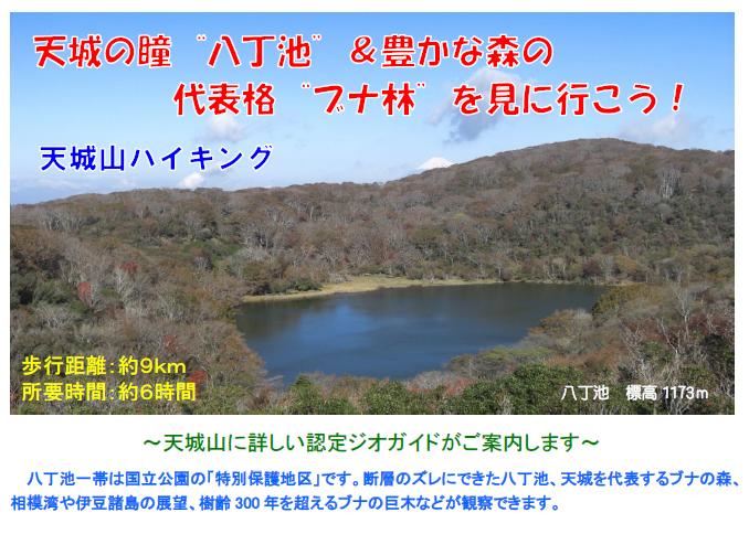 伊豆半島ジオパーク冒険団 天城山ハイキング