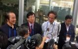 左から伊東市長、川勝静岡県知事、小山静岡大学教授、東伊豆町長(APGN鳥取会場)