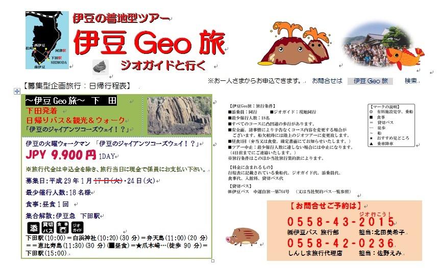 伊豆Geo旅 下田